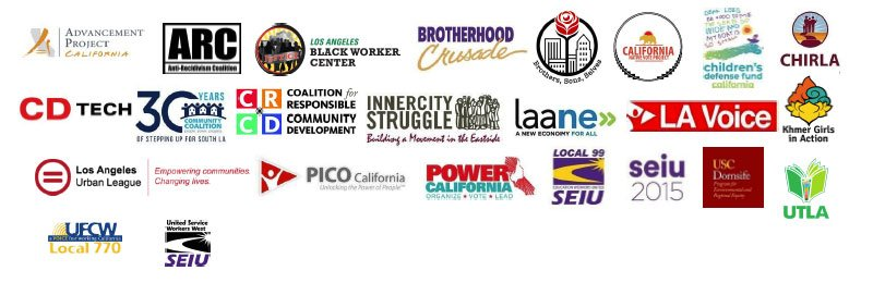 Los Angeles Urban League partner organizations anti-racism letter to Los Angeles Mayor Eric Garcetti