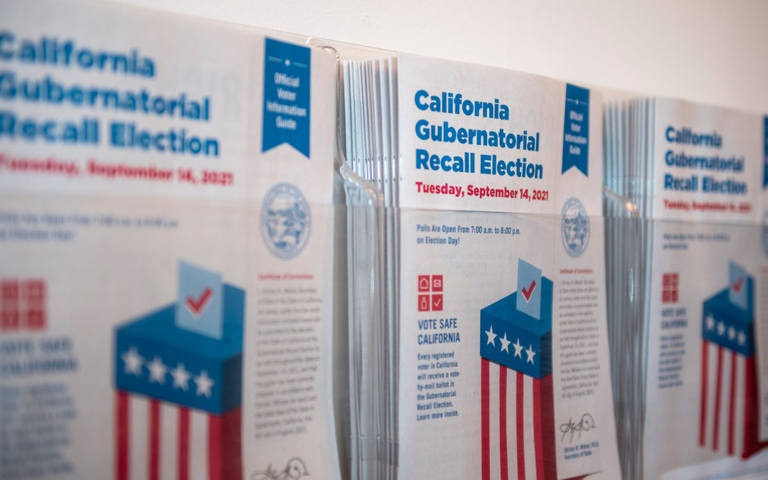 Why You Must Vote in The California Recall Election