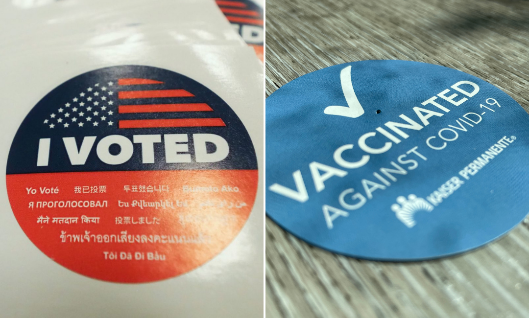 Get Vaccinated and VOTE
